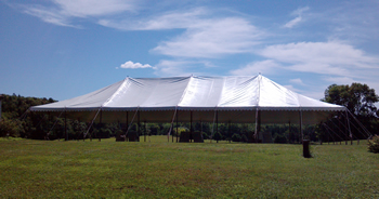 Markham Tent Rentals for weddings, retirement parties, birthday parties, graduations, BBQs, Pig Roasts and Lawn Sales.